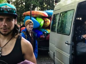 Chile whitewater kayaks for rent